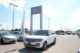Used 2014 Land Rover Range Rover 5.0L Autobiography SWB for sale in Whitby, ON