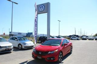 Used 2014 Honda Civic COUPE 2.4L Man Si for sale in Whitby, ON