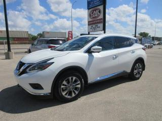 Used 2018 Nissan Murano Pano/Lthr/Nav/Loaded for sale in Winnipeg, MB