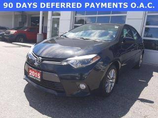 Used 2015 Toyota Corolla 4dr Sdn CVT LE for sale in North Bay, ON