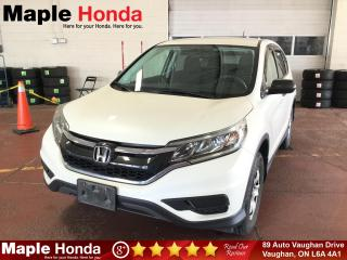 Used 2015 Honda CR-V LX| Backup Cam| Bluetooth| for sale in Vaughan, ON