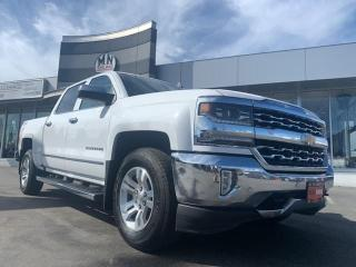 Used 2017 Chevrolet Silverado 1500 LTZ w/2LZ 4WD 5.3L Z71 NAVI SUNROOF BOSE SOUND for sale in Langley, BC