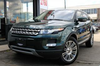Used 2012 Land Rover Evoque Prestige Pure Plus, Pano, Nav, 360Cam, Blind Spt, Prem Sound for sale in North York, ON