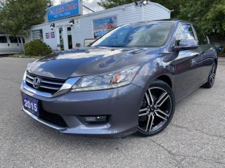 Used 2015 Honda Accord Sedan 4dr I4 CVT Touring NAVI| 2 SETS OF TIRES ACCIDENT FREE for sale in Brampton, ON