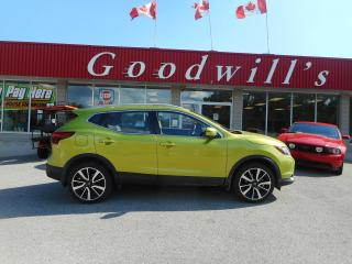 Used 2019 Nissan Qashqai SL! HEATED LEATHER! REMOTE START! NAV! SUNROOF! for sale in Aylmer, ON