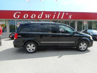 Used 2019 Dodge Grand Caravan CREW! STOW&GO! CLEAN CARFAX! NAV! DVD! B/TOOTH! for sale in Aylmer, ON