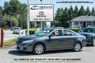 Used 2010 Toyota Camry LE Sedan, Local, No Declarations, Power Sunroof, Bluetooth for sale in Surrey, BC