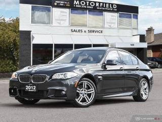 Used 2012 BMW 5 Series 535i xDrive AWD M Sport *Excellent Shape, Navi, Backup Cam* for sale in Scarborough, ON