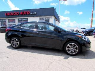 Used 2014 Hyundai Elantra GLS AUTOMATIC BLUETOOTH CERTIFIED 2YR WARRANTY for sale in Milton, ON