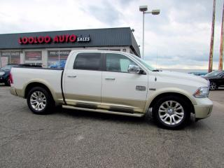 Used 2016 RAM 1500 Longhorn Crew Cab 4WD 5.7L Hemi Navi Camera Certified for sale in Milton, ON