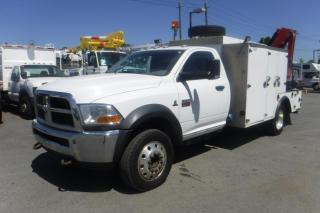 Used 2011 Dodge Ram 5500 Regular Cab Service Truck with a Crane 2WD Diesel for sale in Burnaby, BC