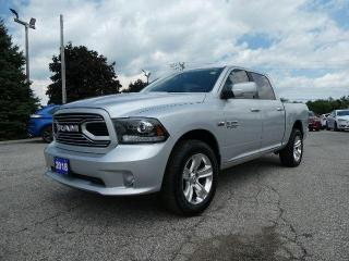 Used 2018 RAM 1500 Sport | Back Up Cam | Middle Console | Big Screen for sale in Essex, ON