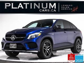 Used 2017 Mercedes-Benz GLE-Class AMG GLE43, COUPE, PREMIUM, NAV, 360 CAM, PANO for sale in Toronto, ON
