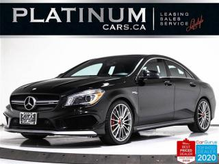 Used 2015 Mercedes-Benz CLA-Class CLA45 AMG, 355HP, NAV, CAM, PANO, PERFORMANCE SEAT for sale in Toronto, ON