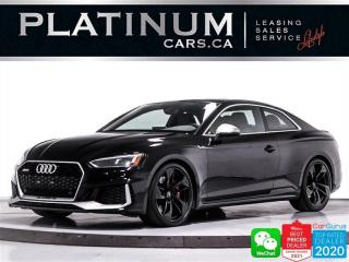 Used 2018 Audi RS 5 2.9T quattro, 444HP, NAV, CAM, PANO, ALCANTARA, BT for sale in Toronto, ON