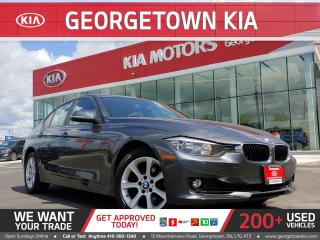 Used 2013 BMW 3 Series AWD | LEATHER | SUNROOF | HEATED SEATS | 92K KMS for sale in Georgetown, ON