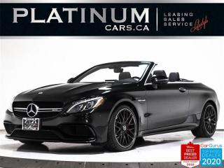 Used 2018 Mercedes-Benz C-Class AMG C63 S, 503HP, CONVERTIBLE, NAV, 360, BURMESTER for sale in Toronto, ON