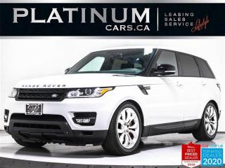 Used 2014 Land Rover Range Rover Sport Autobiography, 510HP, V8, SUPERCHARGED, NAV, CAM for sale in Toronto, ON