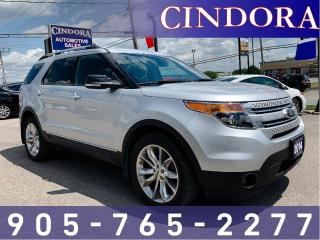 Used 2014 Ford Explorer XLT, 7 Passenger, Nav, Leather, Pano Roof for sale in Caledonia, ON