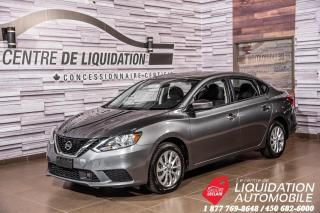 Used 2018 Nissan Sentra SV+BLUETOOTH+SIEGES CHAUFFANTS+CLÉ INTEL. for sale in Laval, QC