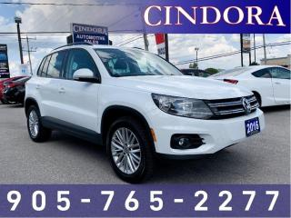 Used 2016 Volkswagen Tiguan Comfortline, Pano Roof, Rear Camera, Heated Seats for sale in Caledonia, ON