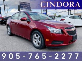 Used 2012 Chevrolet Cruze LT Turbo, Auto, Bluetooth, Remote Start for sale in Caledonia, ON
