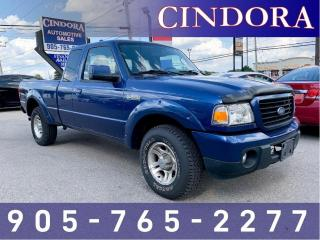 Used 2008 Ford Ranger Sport, Auto, A/C, Clean Carfax for sale in Caledonia, ON