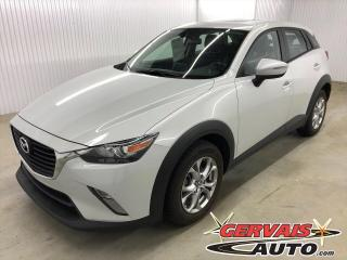 Used 2017 Mazda CX-3 GS Luxe GPS Cuir/Tissus Toit Ouvrant Mags for sale in Trois-Rivières, QC