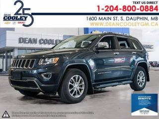 Used 2015 Jeep Grand Cherokee Limited for sale in Dauphin, MB