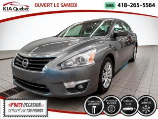 Used 2014 Nissan Altima 2.5* S* AUTOMATIQUE* CAMERA* BLUETOOTH* for sale in Québec, QC