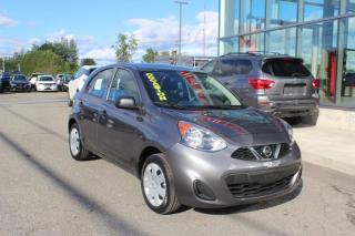 Used 2019 Nissan Micra S AUTOMATIQUE AIR CLIMATISÉ*BAS KILOMÉTR for sale in Lévis, QC