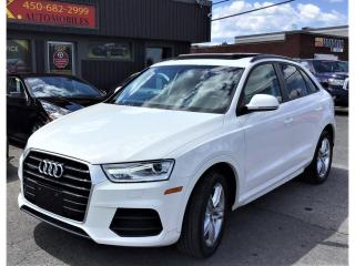 Used 2016 Audi Q3 Quattro-2.0T-Komfort-TOIT PANORAMIQUE-AWD-BLUETOOT for sale in Laval, QC