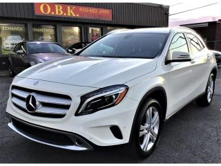 Used 2016 Mercedes-Benz GLA 4MATIC-GLA 250-NAVIGATION-CAMERA RECUL-BLUETOOTH for sale in Laval, QC