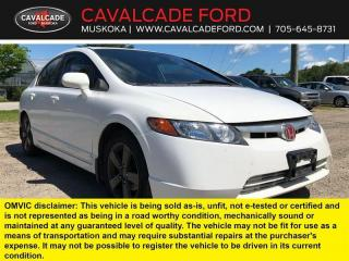 Used 2007 Honda Civic Sdn EX for sale in Bracebridge, ON