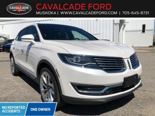 Used 2016 Lincoln MKX Reserve for sale in Bracebridge, ON