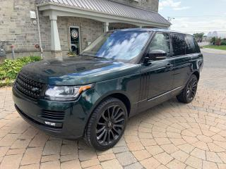 Used 2016 Land Rover Range Rover SuperCharged for sale in St-Eustache, QC