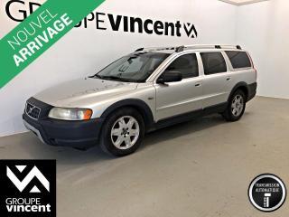 Used 2005 Volvo XC70 2.5T AWD ** VENTE TEL QUEL AU PRIX DE L'ENCAN ** Vente tel quel au prix de l'encan! for sale in Shawinigan, QC