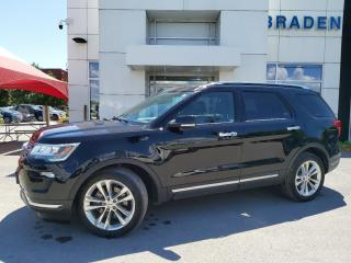 Used 2018 Ford Explorer LIMITED for sale in Kingston, ON