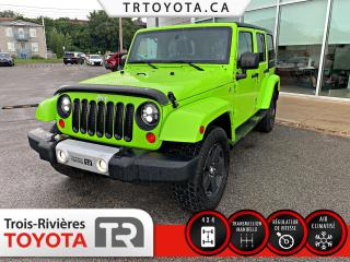 Used 2012 Jeep Wrangler Modèle Sahara 4 portes traction intégral for sale in Trois-Rivières, QC