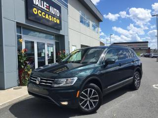 Used 2019 Volkswagen Tiguan COMFORTLINE 4Motion for sale in St-Georges, QC