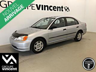 Used 2001 Honda Civic DX-G ** VENTE TEL QUEL AU PRIX DE L'ENCAN ** Vente tel quel au prix de l'encan! for sale in Shawinigan, QC