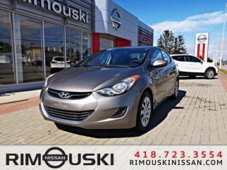 Used 2011 Hyundai Elantra 4DR SDN AUTO GL for sale in Rimouski, QC