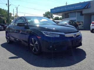 Used 2016 Honda Civic Touring LEATHER, SUNROOF, NAV, HEATED SEATS, BACKUP CAM!! for sale in Richmond, ON