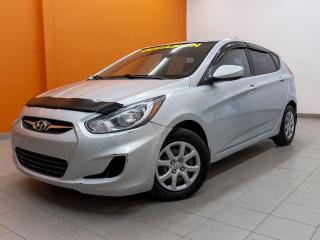 Used 2012 Hyundai Accent GL *CLIMATISAEUR* REGUL VITESSE *PORT USB* PROMO for sale in Mirabel, QC