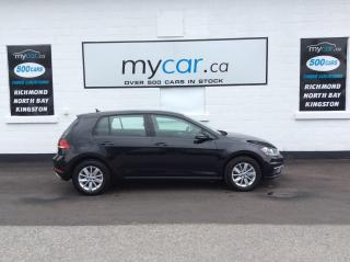 Used 2019 Volkswagen Golf 1.4 TSI Comfortline ALLOYS, HEATED SEATS, MYCAR POWERBUY!! for sale in Kingston, ON