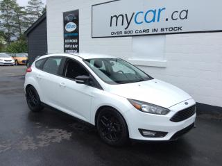 Used 2016 Ford Focus HEATED SEATS, BLACK WHEEL UPGRADE, BACKUP CAM!! for sale in Kingston, ON