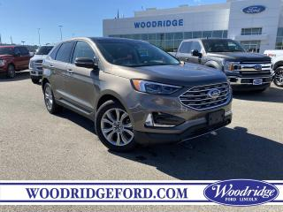 Used 2019 Ford Edge Titanium ***PRICE REDUCED*** 2.0T, NAVIGATION, LEATHER, SUNROOF, AUTO PARK, ADAPTIVE CR for sale in Calgary, AB