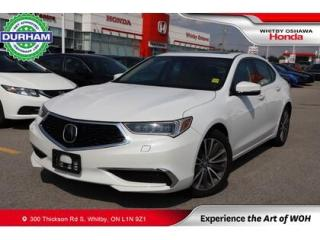 Used 2019 Acura TLX Sh-Awd for sale in Whitby, ON