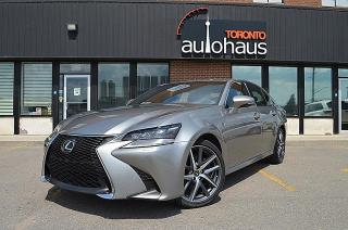Used 2017 Lexus GS 350 F-SPORT/BSM/LDW/NAVI/NO ACCIDENTS for sale in Concord, ON