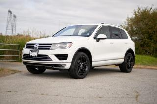 Used 2017 Volkswagen Touareg 3.6L Wolfsburg Edition *DYNAUDIO* *LEATHER* *NAVIGATION* *KEYLESS ENTRY* FRONT ASSIST* for sale in Surrey, BC